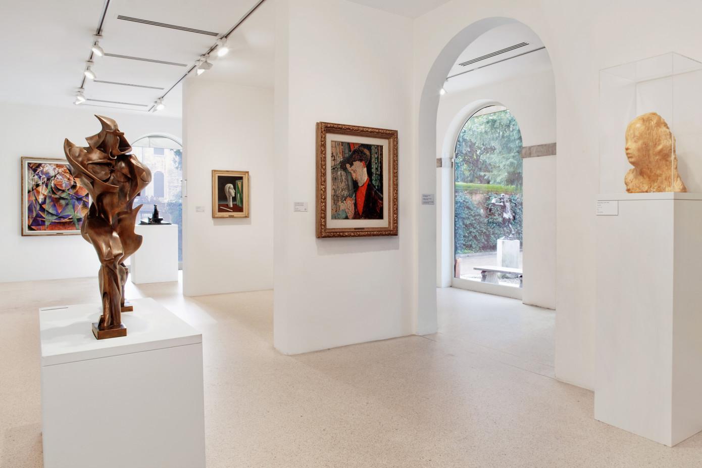 COLLEZIONE PEGGY GUGGENHEIM, VENEZIA - 2010  SPAZI MUSEALI INTERNI